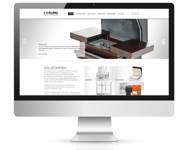 Kling GmbH Website